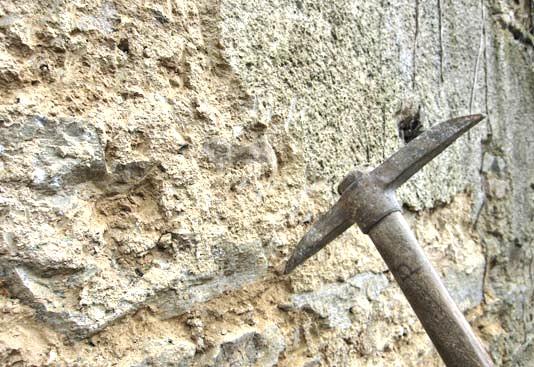 Enduit Exterieur A La Chaux  Sur Vieux Murs  Przeau Sarl